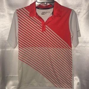 Nike Golf 🏌️ Dri-Fit Boys Polo shirt Size L